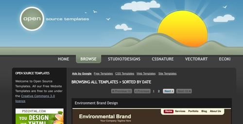 open source template engine - datalife engine 35 css