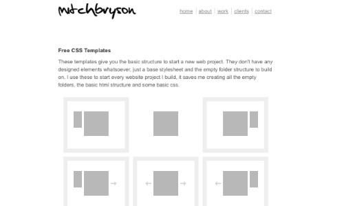 бесплатные css шаблоны сайтов: