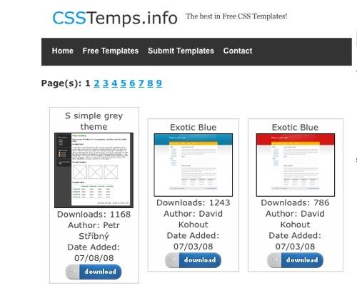 шаблоны css html знакомства