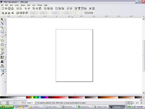 Inkscape 0,48,4 (rus) замечательный инструмент создания изображений