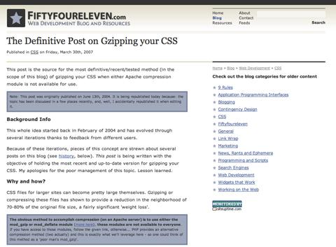 50 новых CSS-приёмов для вашего будущего Интернет-проекта