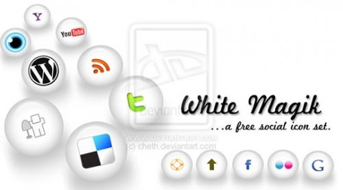 72 бесплатных набора красивых иконок для сервисов социальных закладок