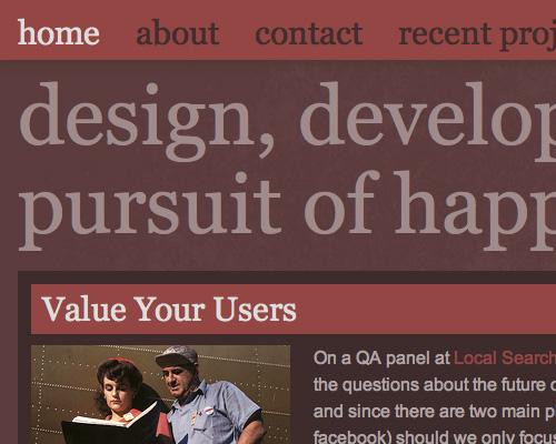 20 важнейших приёмов и лучшие способы достижения эффективности дизайнерских разработок - Часть 1