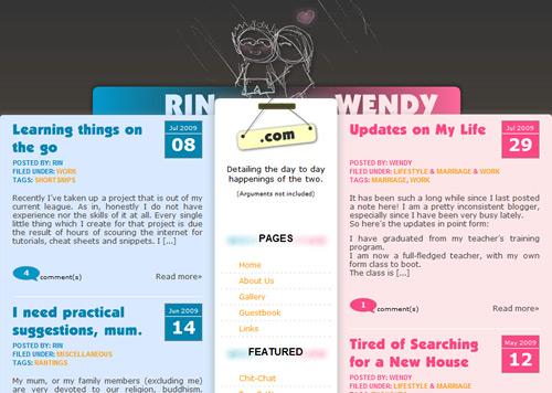 60 (новейших) дизайнов оформления блогов, красивых и соблазнительных