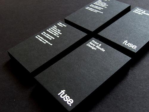 Более 30 интересных дизайнов печатных визитных карточек