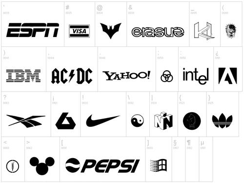 24 высококачественных и бесплатных символьных шрифтов