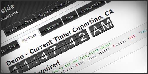 Плагин по созданию и управлению часами на JavaScript – epiClock