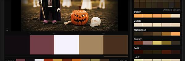 Построение цветовых схем для