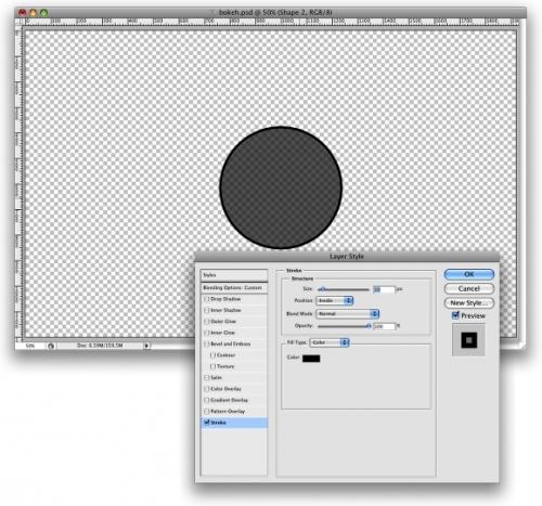 Уроки Photoshop: Превосходный цифровой эффект «бокэ»