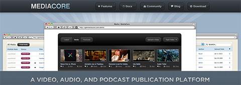 MediaCore – бесплатная платформа для публикации медиа-файлов