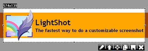 LightShot – простой, но функциональный инструмент для создания скриншотов (перехватчик экрана)