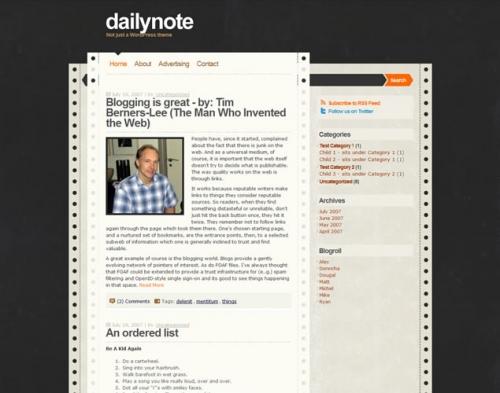 25 свежих, добротных и оригинальных тем оформления для Wordpress