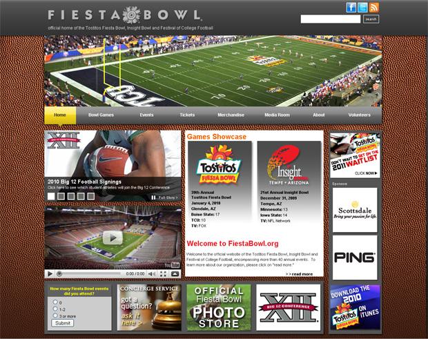 Дизайн американских сайтов