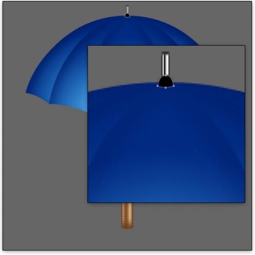 Уроки Photoshop: Рисуем 3D-зонтик