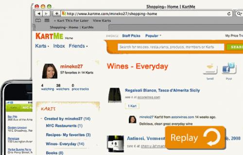 KartMe – отличный способ отсортировать ваш любимый он-лайн контент и поделиться им с людьми