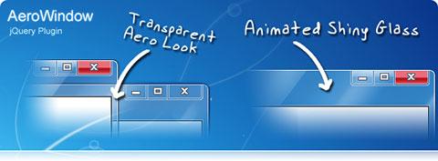 AeroWindow или всплывающие окна в стиле Windows
