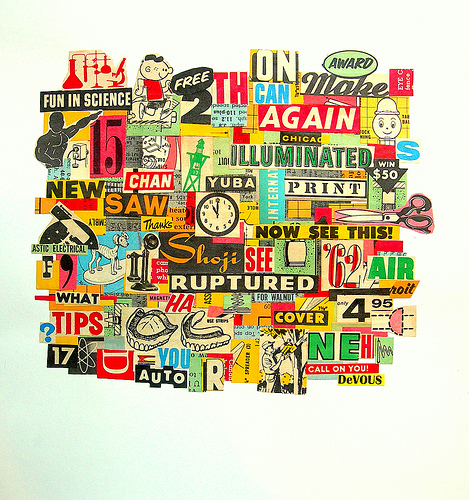 Более 35 прекрасных примеров оригинальных коллажей в качестве творческих находок вам на заметку