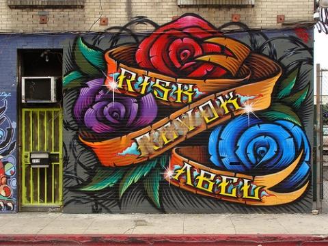 Подборка рисунков в стиле граффити