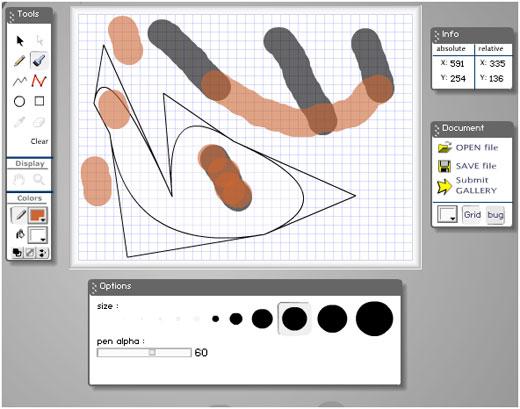 программа для рисования артов онлайн - фото 9