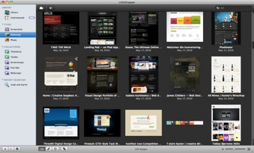 6 приложений для сбора элементов визуального вдохновения в сети