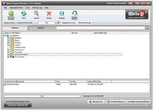 Онлайн-дублирование данных посредством IDrive, и до 10 Гб памяти бесплатно