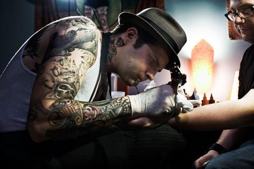 36 красивых примеров тату-фотографии
