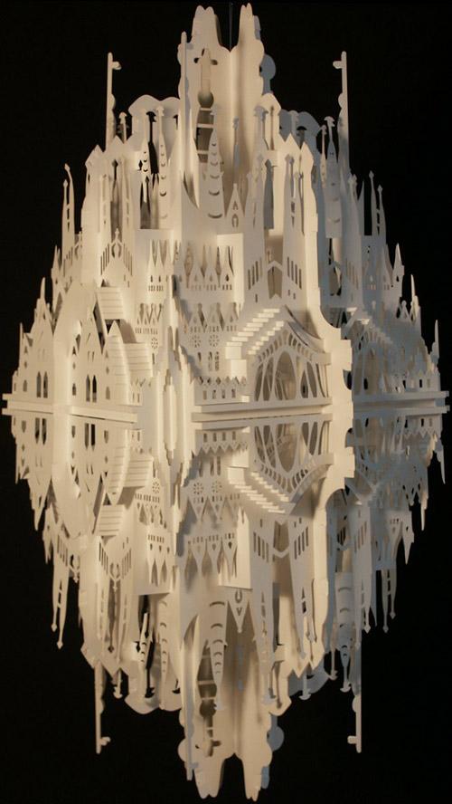 А знаете ли вы, что из бумаги можно делать целые архитектурные проекты.  Безусловно талантливая Ингрид Силиакус...
