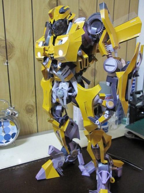 Transformers из бумаги