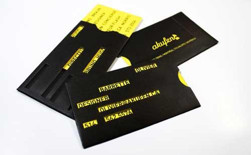 30 лучших дизайнов визитных карточек графических дизайнеров