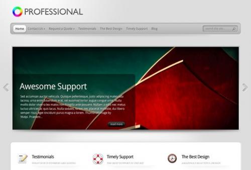 10 профессиональных шаблонов для WordPress на бизнес-тематику