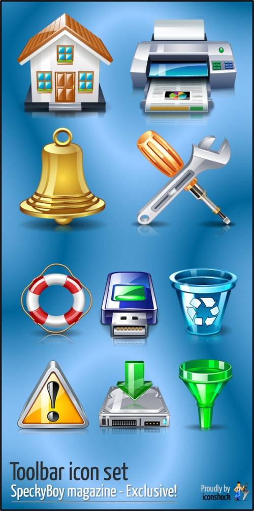 Эксклюзивный набор иконок для панели инструментов специально для наших читателей