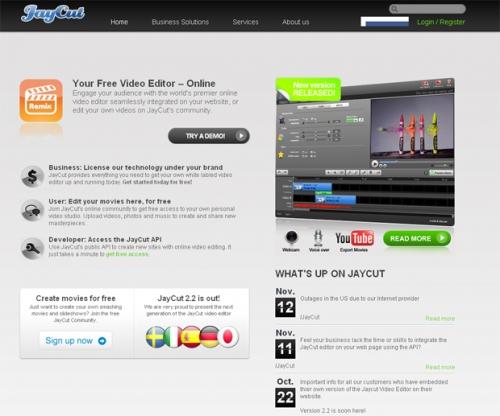 Редактор видео онлайн