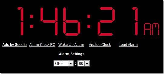 Онлайн будильник на ноутбук