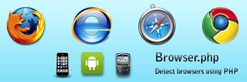 Browser.php: определение браузера с помощью PHP