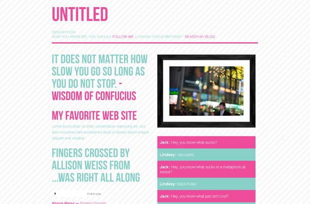 Tumblr Blog Templates. 50 best free responsive wordpress themes ...