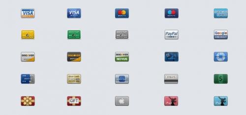 25 бесплатных наборов иконок высокого качества для веб- и iPhone-дизайнеров