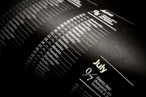 20 креативных календарей на 2011 год