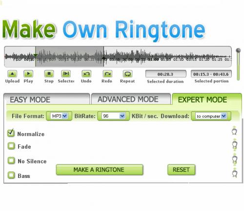10 лучших онлайн-инструментов для создания и конвертации рингтонов