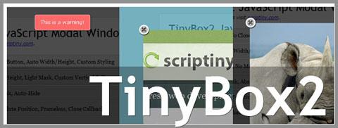 TinyBox2: отдельная версия для создания полноценных модальных окон на Javascript