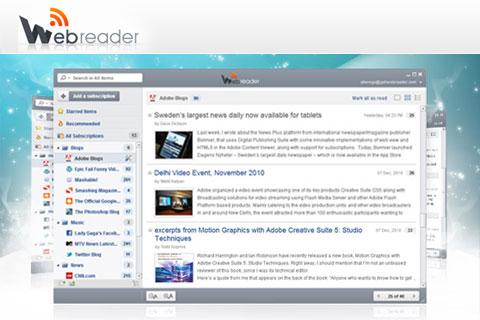 WebReader: клиент для рабочего стола для Google Reader