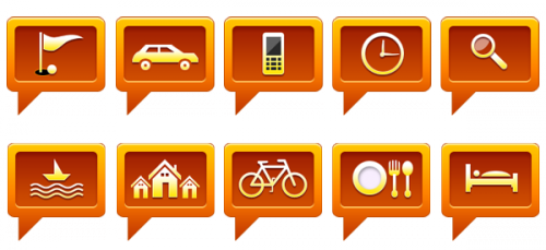 Иконки GPS-навигации – часть 2