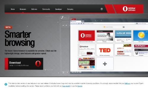 Opera развивает поддержку CSS3