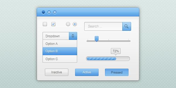 Графический дизайн пользовательского интерфейса