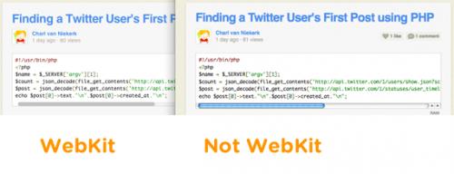 Собственные скроллинги в браузерах семейства WebKit