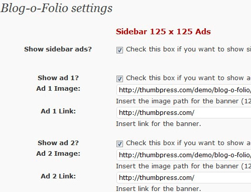 WordPress шаблон Blog-O-Folio версии 1.0