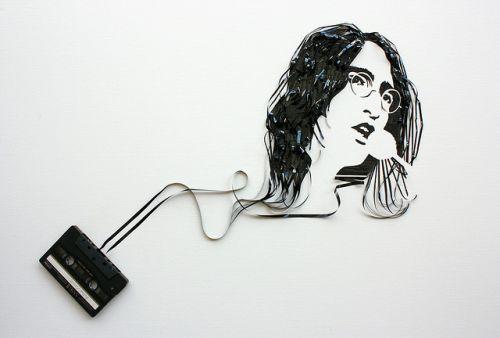 Шедевры из магнитофонной ленты!