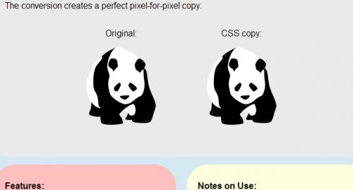 Конвертер изображений в CSS-код