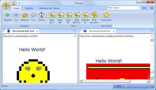 Надежное тестирование на кросс-браузерность – Часть 1: Internet Explorer