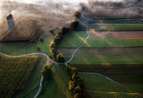 55 примеров захватывающей фотографии с воздуха (аэрофотосъёмки)