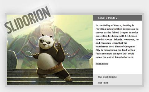 Slidorion: слайдер изображений jQuery, совмещенный с гармошкой